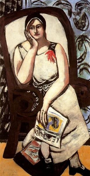 Max Beckmann, Макс БЕКМАН (1884-1950, Германия) один из крупнейших мастеров межвоенного периода XX в. С 1925 преподавал в Штеделевском художественном институте. В 1933 был отстранён от