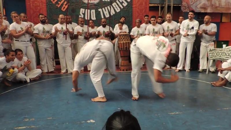 Jogos Mineiros 2018 Abadá Capoeira - Comanche e Frajola - Iúna