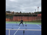 Nata is getting ready for the next season.  / tennis insight