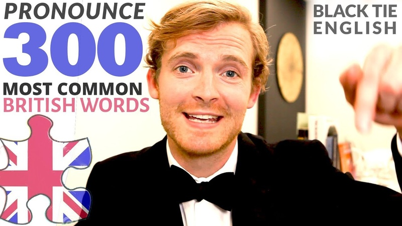 How to PRONOUNCE 300 most common British English words | Part 1 of 3 | ESL | Subtitles |