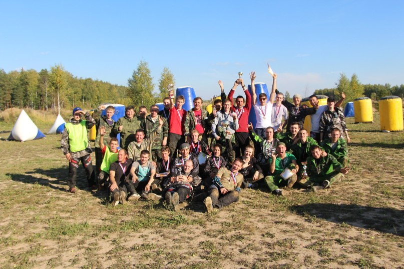 турнир по пейнтболу в Иваново - фото клуб Патриот