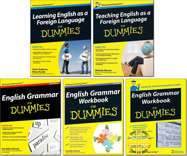 English for Dummies - 5 Kitap Birarada