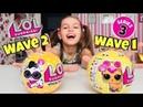 ЛОЛ Петс 1 волна и 2 волна Сравнение и Распаковка / Лол Оригинал / LOL PETS 2 wave / Наша Маша