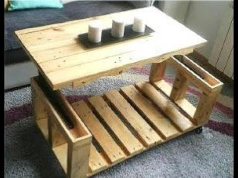 🔴 Wooden furniture from old pallets! 50 original ideas.