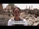Анджелина с дружеским визитом в Ираке