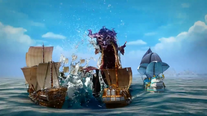 Pirate Storm Death or Glory Official HD game trailer - Online