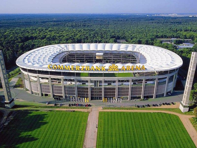 Стадион Коммерцбанк-Арена (Commerzbank-Arena). Франкфурт-на-Майне, Германия.