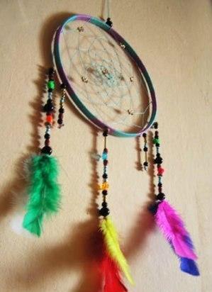 Ловец снов своими руками: схема плетения. Ловец снов - украшение, которое ловит плохие сны в свои сети, а хорошие пропускает сквозь центр.