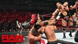 Lucha House Party vs. Heavy Machinery vs. The B-Team vs. The Revival Raw, February 4, 2019
