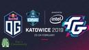 OG vs FWD - Game 1 - ESL One Katowice 2019 - Group Stage.