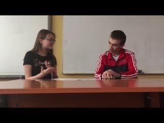 Первое интервью с корреспондентом БФЛ.