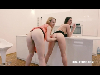 LegalPorno - Tiffany Doll, Rebecca Sharon [ Anal, Hardcore, Ass Licking, Facefucking, Piss in Mouth, Fisting, IR ] Part#1