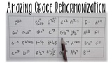 6 Amazing Grace 'SoulJazz' Reharmonizations screen Tutorial