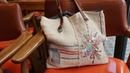 프랑스자수 헴프린넨 가방 만들기 │ How To Make a Embroidery Hemp Bag │ DIY Craft Tutorial
