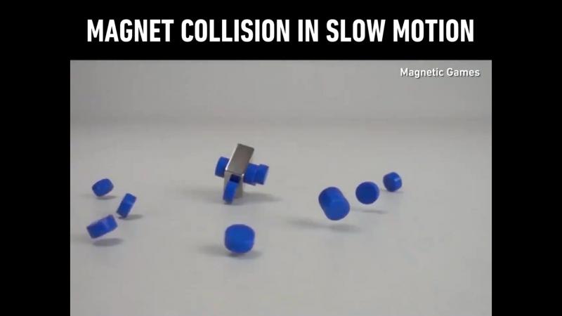 Magnet collision