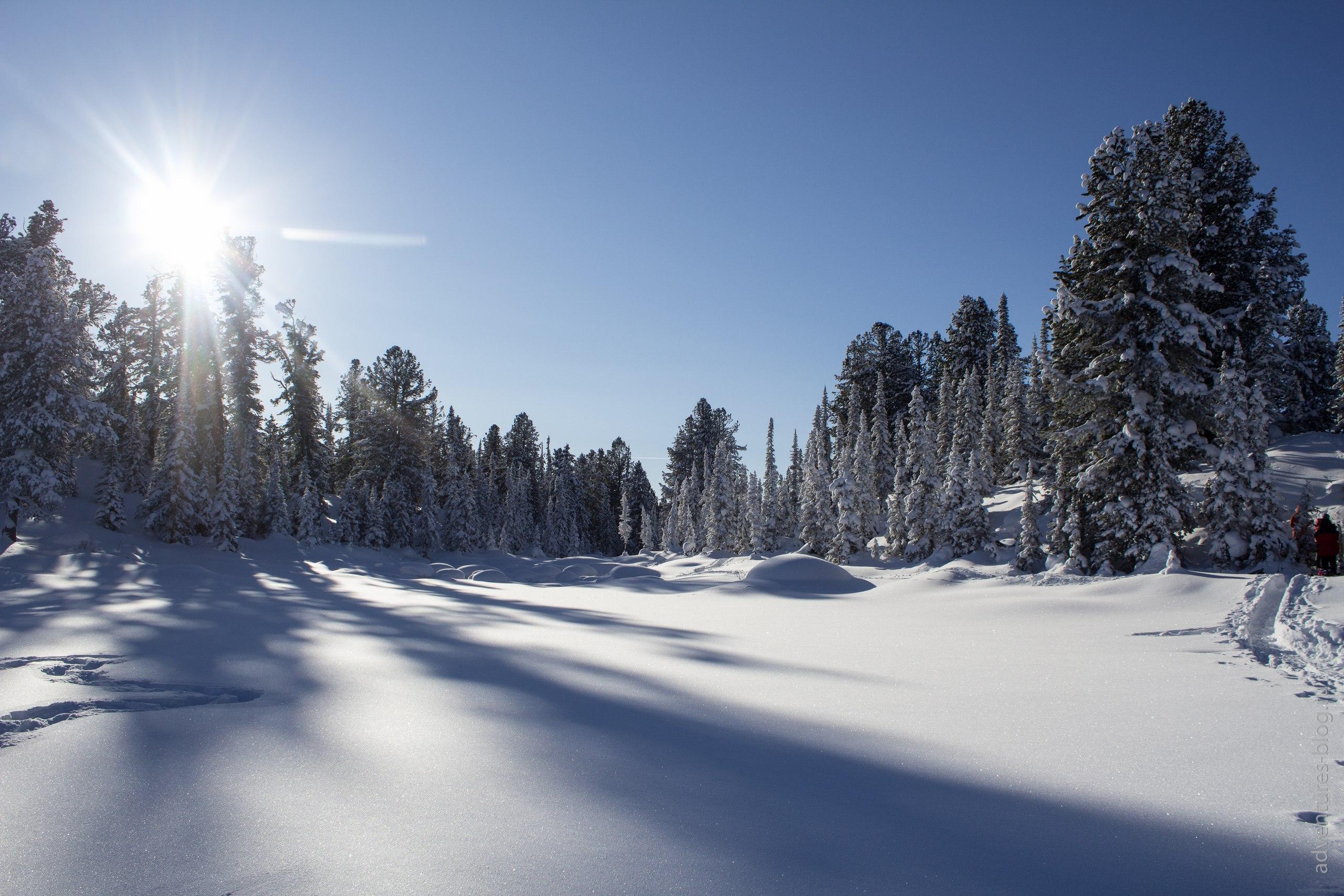 Зима Ергаки