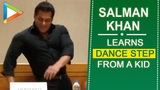 WAH Salman Khan learns a COOL dance step from a kid from Vancouver