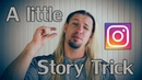 Simple INSTAGRAM Story trick to raise interest to your new post