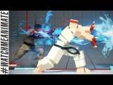 How to Animate a Ryu Hadouken from Street Fighter V - #watchmeanimate ep02