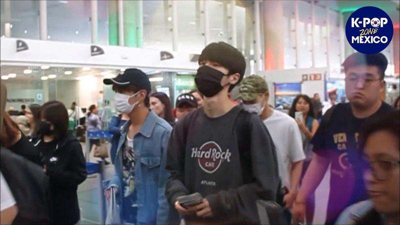 11.06.18 THE ROSE в аэропорту Мехико