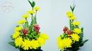How to make the Yellow Chrysanthemum Snapdragon Flower Arrange 139