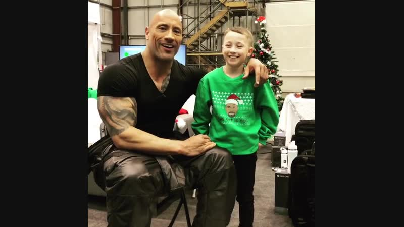 Make a wish day Hobbs and Shaw