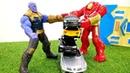 Игры для мальчиков - Железный Человек и Танос! - За кого Халкбастер