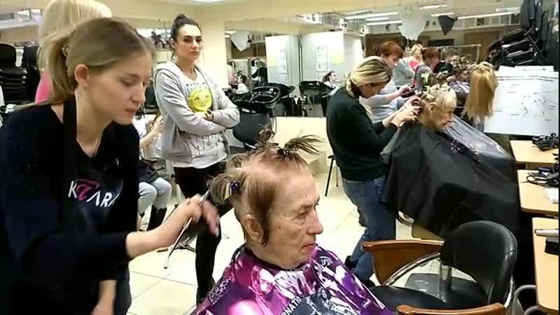 HIGH SCHOOL. Курс для начинающих парикмахеров. Салонные стрижки на 12 длинах. Техника Vidal Sassoon. Практика на моделях