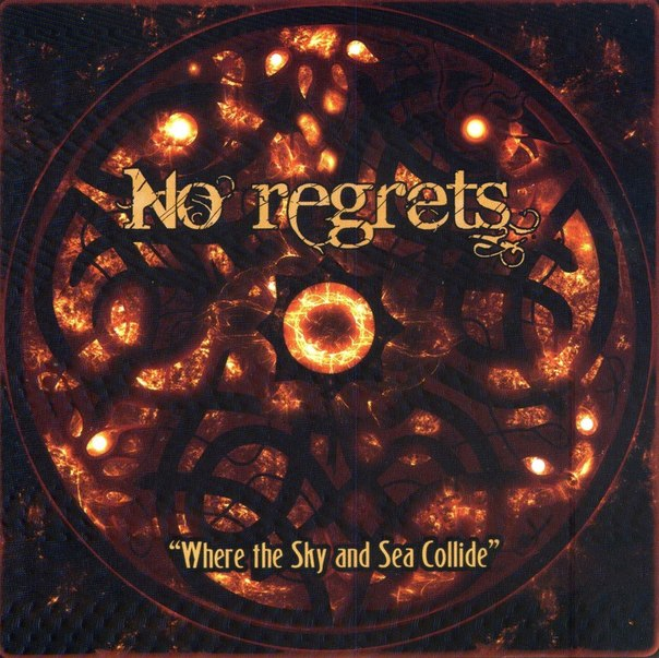 Дебютный альбом NO REGRETS - Where The Sky And Sea Collide (2013)