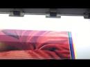 Печать баннера на широкоформатном принтере 440гр 360 dpi Типография Бизнес Принт