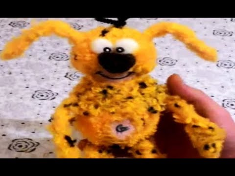 Do it yourself / pom pom marsupilami / how to / Handicraft / craft knitting rope marsupilami/diy