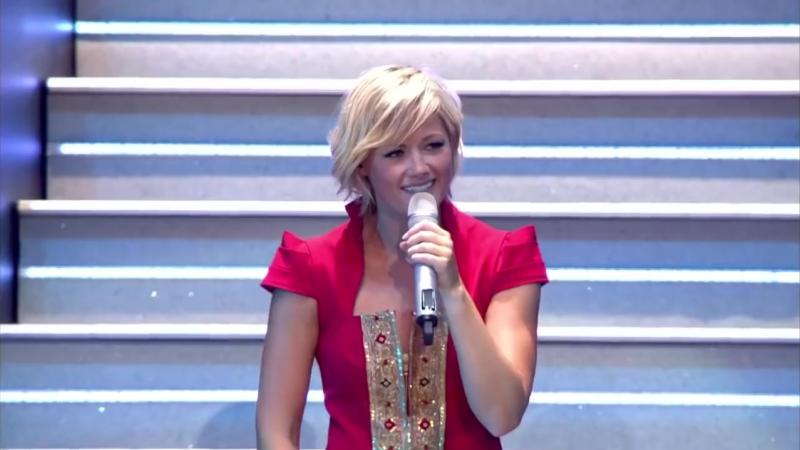 Немка Елена Фишер русскими песнями ставит Ланксесс-Арена на уши.