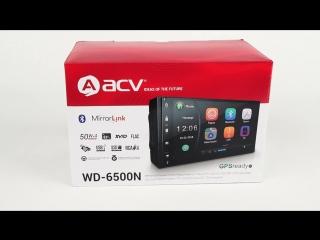 Обзор магнитолы ACV ACV WD-6500N