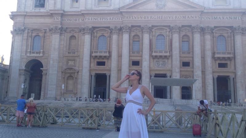 Я в Риме. Ватикан.
