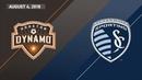 HIGHLIGHTS Houston Dynamo vs Sporting Kansas City August 4 2018
