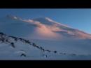 Вечерний закат на Эльбрусе ...