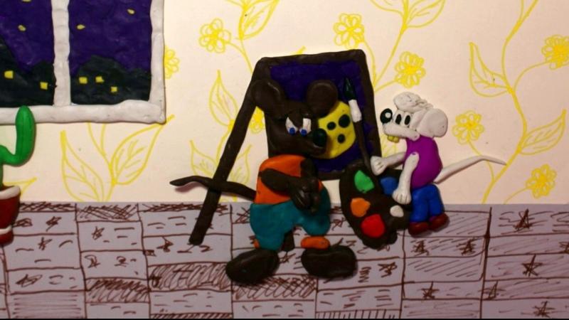 Леопольд - мультфильм на тимбилдинге