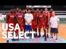 USA Select Dominate at adidas EUROCAMP 2015 Rawle Alkins Frank Jackson Kobi Simmons More