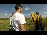 Утопил свой Кавасаки в болоте, доставали трактором