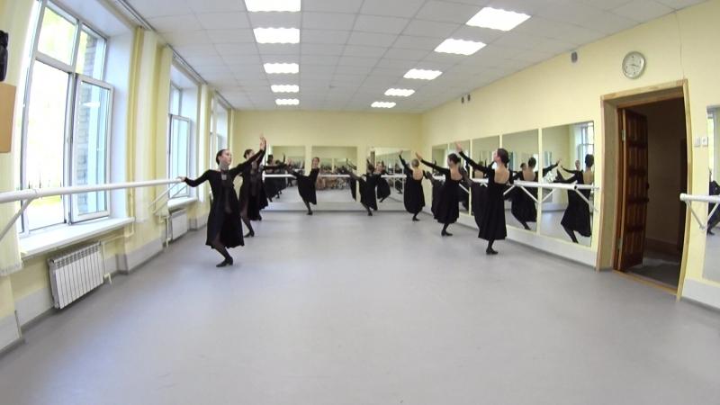 Показ. Народно-сценический танец. 2-й семестр. Часть 5