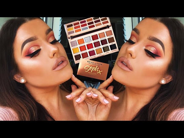 REVOLUTION X SOPH EXTRA SPICE PALETTE • FIRST IMPRESSIONS TUT! | Rachel Leary