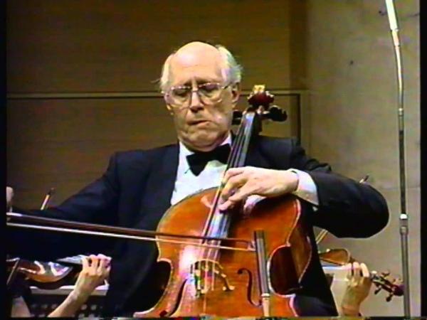 Haydn Cello Concerto No. 1 in C major - II. Adagio, Cello Rostropovich