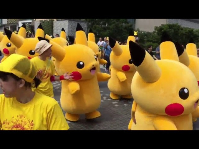 Pikachu Parade - Yokohama, August 2017