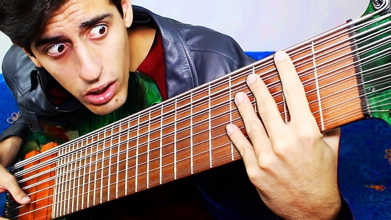 24 STRINGS BASS SOLO