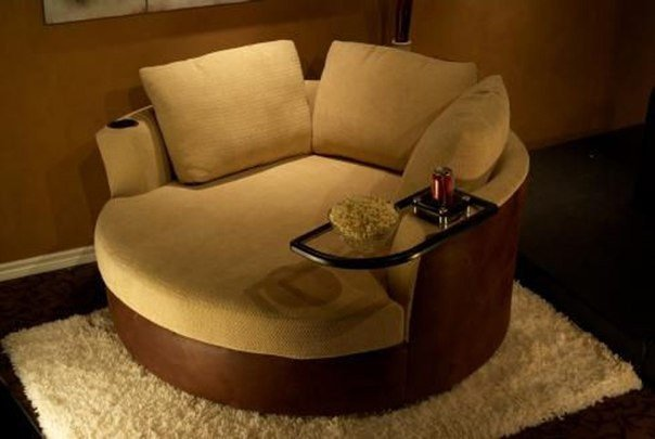 Круглое кресло #DIY_Идеи