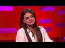 Mila Kunis on the Graham Norton show