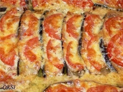 Подборка рецептов с баклажанами. 1. Баклажаны фаршированные по-каталонски Ингредиенты: Баклажаны