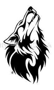 """Оригинал схемы вышивки  """"Волчья натура """"."""