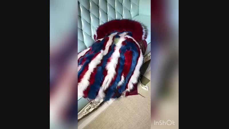 New fashion 2018 🔥 MrMrs Furs 💥 S M L XL XXL Мех- натуральный 💥