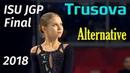 Alexandra TRUSOVA SP ISU JGP Final Vancouver 12 2018 Alternative